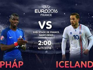 Ý kiến 7M: Pháp vs Iceland