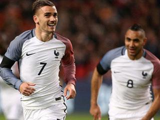 Pháp - Đức có 2 bàn trở lên