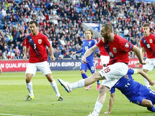 Na Uy 3-2 Iceland (Giao hữu Quốc tế 2016)