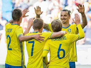 Thụy Điển 3-0 Xứ Wales (Giao hữu Quốc tế 2016)