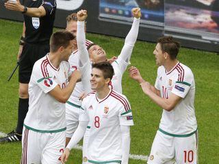 Áo 0-2 Hungary(Bảng F EURO 2016)
