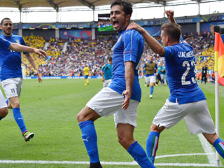 Italia 1-0 Thụy Điển: Người hùng Eder