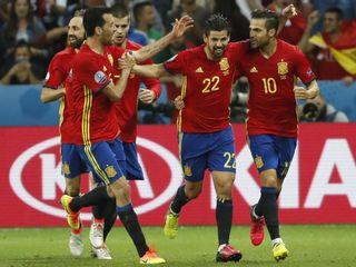Tây Ban Nha 3-0 Thổ Nhĩ Kỳ(Bảng D EURO 2016)