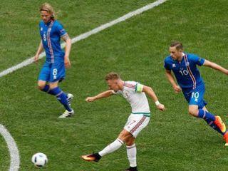 Iceland 1-1 Hungary (Bảng F EURO 2016)