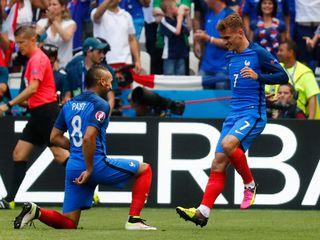 Pháp 2-1 CH Ireland(Vòng 1/8 EURO 2016)