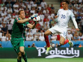Anh 1-2 Iceland (Vòng 1/8 EURO 2016)