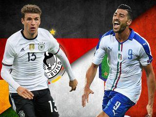 Gà Tài dự đoán vòng tứ kết: Đức vs Italia