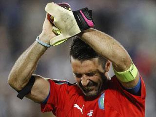 Những pha cứu bóng của Buffon tại EURO 2016